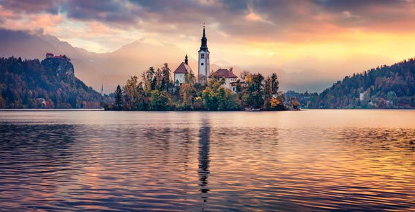 Bled Island and Lake Bled