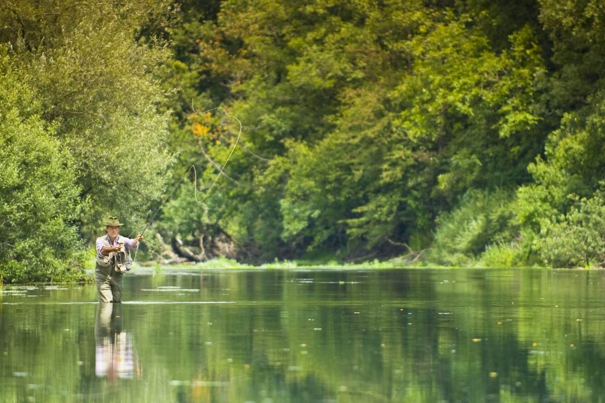 Fly Fishing on Unca River